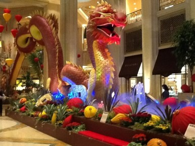 2012 is the Year of the Dragon. A friend invited me to Las Vegas to celebrate the Lunar New Year, February, 2012. I posted the dragon pictures on a post in this blog, and the chocolates on another post.
